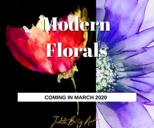 "Class ""Alcohol Ink Art - Modern Florals"" March 8th, 2020"