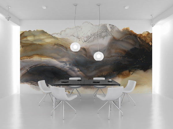 "Wallpaper Mural ""Iron Mountain"""