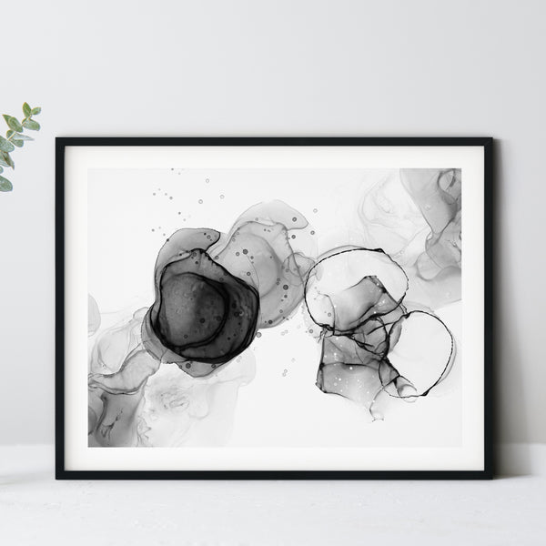 Noir 1 - Giclee Print in black and white