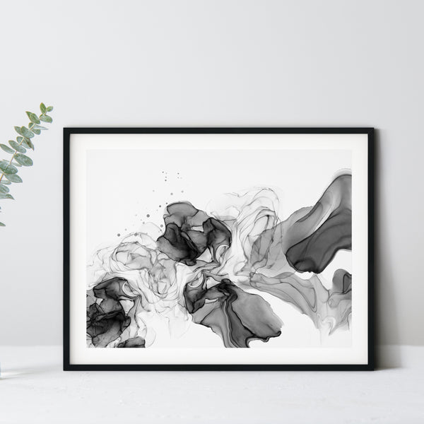 Noir 2 - Giclee Print in black and white
