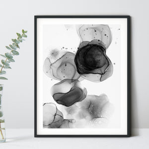 Noir 3 - Giclee Print in black and white