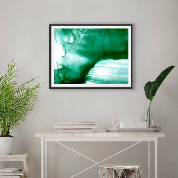 Digital Download - Emerald Veil - Printable Art