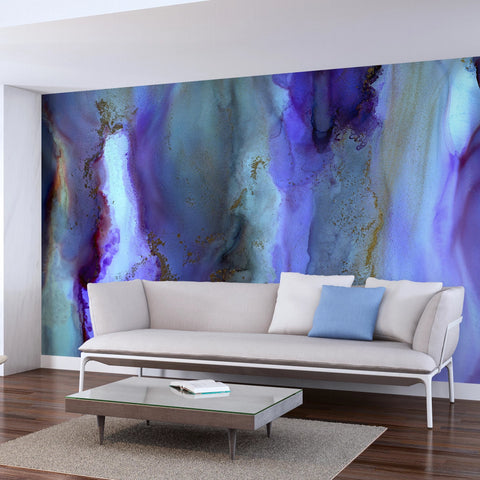 "Wallpaper Mural ""Purple Veil"""