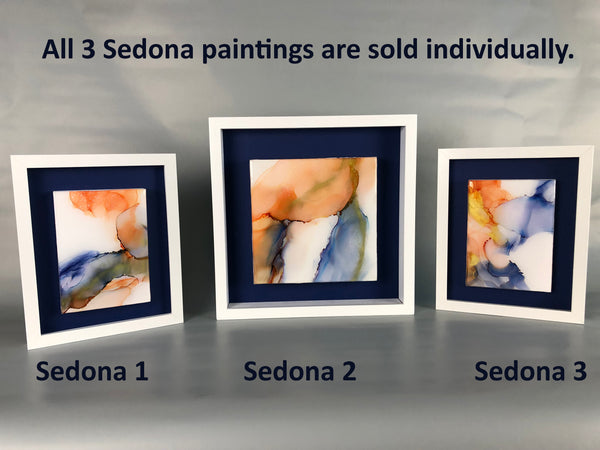 Sedona 2 - original painting with resin finish