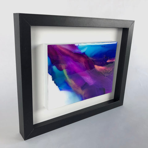 Silk Veil 3 - original painting with resin finish