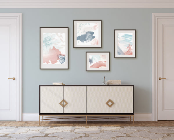 Sedona Pastels Collection - Set of 4 giclee art prints