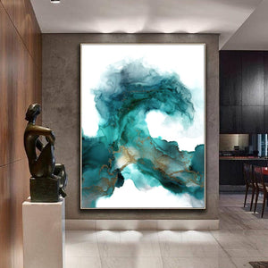 Wild Wave - Canvas Print, free shipping