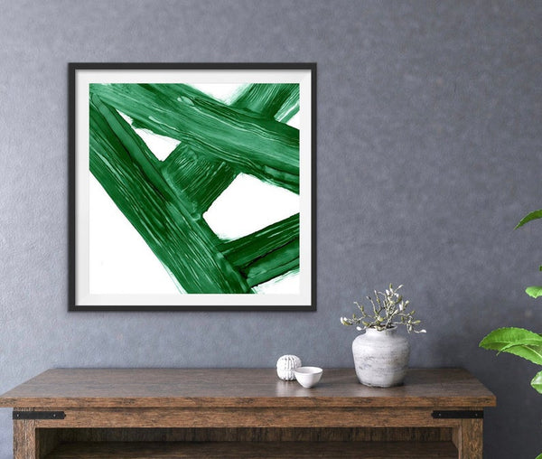 Digital Download - Emerald Crossroads - Printable Art
