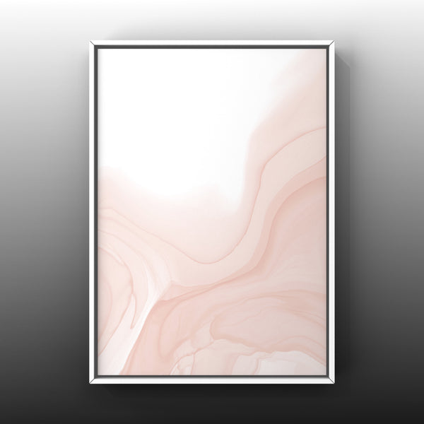 Set of 3 Art Prints - Soft Pink