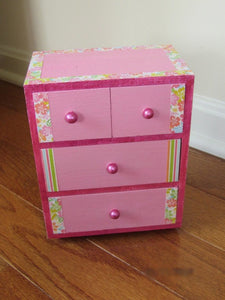 Pink Mini Jewelry Box