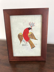 Handpainted Fraktur - Bird