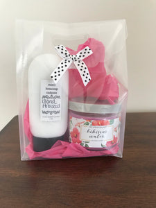 Mini Gift Bag / Lotion & Candle Set