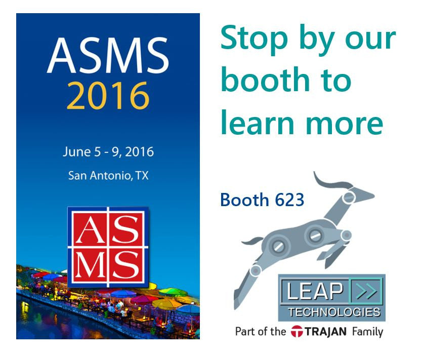 LEAP Technologies is heading to ASMS