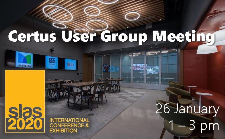 Certus User Group Meeting at SLAS 2020