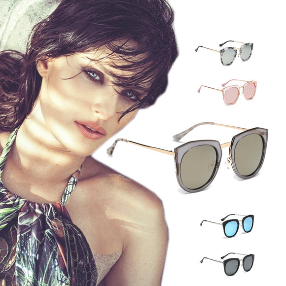Classic Retro Vintage Top Bar Polarized Round Sunglasses