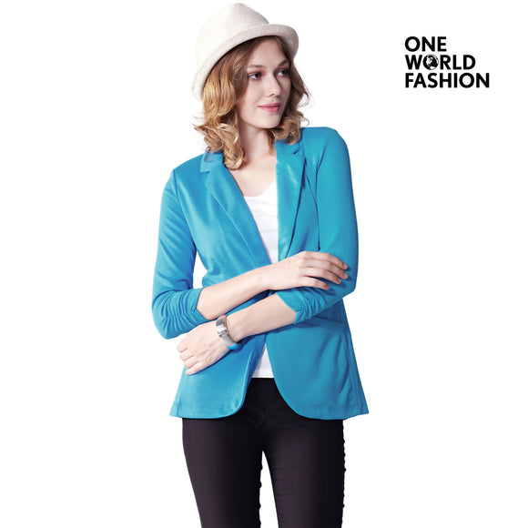 OneWorld Casual Work Office Business Attire Blazers and Jackets for Ladies and Women
