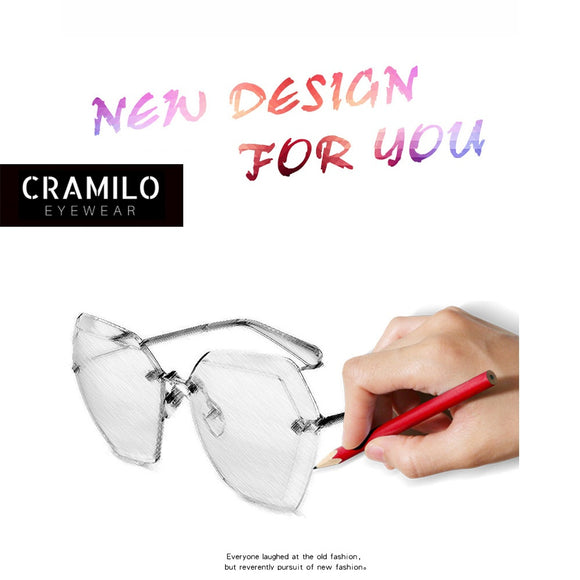 CRAMILO 5 Colors New Fashion Sunglasses Women Sunglasses Popular Outdoor Sports Sun Glasses