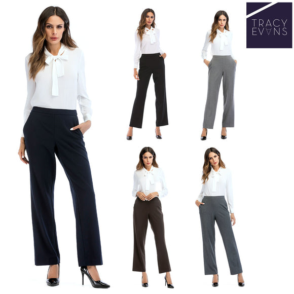 Tracy Evans New Office Ladies Formal Ladies Business  Pant