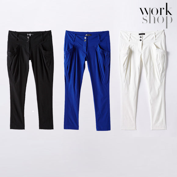 WORKSHOP Pants for Women Work Dress Casual Pants with Pocket