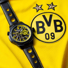 Load image into Gallery viewer, Seagull Borussia Dortmund globle limited edition self winding mechanical men's watch skeleton dial 819.92.5131H total 2588pcs