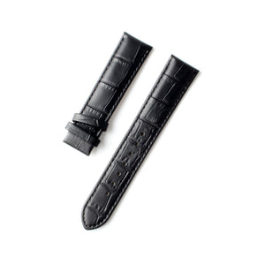 Original Seagull Watch Strap Alligator Grain Genuine Leather Watch Band Multiple Colors 20mm/22mm Without Buckle