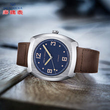 Load image into Gallery viewer, Seagull 44*46mm tonneau dress mechanical watch luminous hands ST25 movement