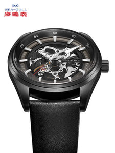 Seagull skeleton 42mm self wind mechanical watch 819.92.6076H