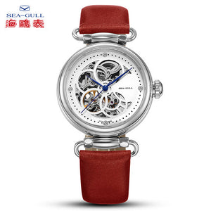 Seagull secret of RHEA series mechanical watch 38mm sapphire crystal