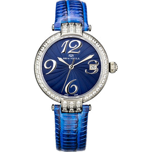 Seagull Rhinestones Bezel Self Wind Automatic Wristwatch 719.752L Multiple Colors Women's Watch seagull ST2130 Movement