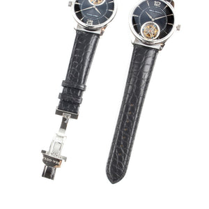 "Seagull Tourbillon Watch""Letter"" Series Manual Hand Wind Alligator Leather 818.27.8810"