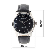 Load image into Gallery viewer, Seagull Dress Leather Strap Business Men Wristwatch Simple Design Self Wind Automatic Men's Mechanical Watch D819.438