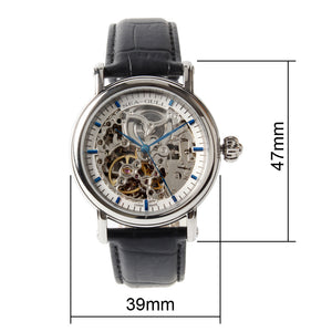 Seagull Skeleton See-Through Window Self Wind Automatic Watch M182SK sapphire crystal