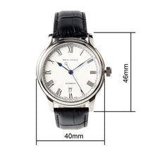 Load image into Gallery viewer, Seagull Roman Numerals ST2130 Watches Exhibition Back Self Wind Automatic Men's Mechanical Watch D819.459