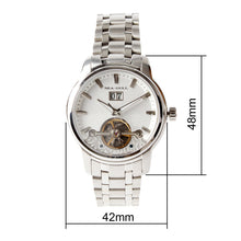 Load image into Gallery viewer, Seagull Retro Flywheel Skeleton Watches Exhibition Back Self Wind Automatic Men's Mechanical Watch 816.409