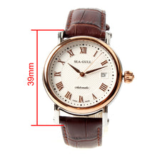 Load image into Gallery viewer, Seagull ST2130 movement Self Wind auto date 38mm Automatic Watch 219.365