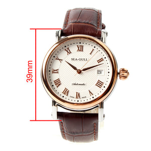 Seagull ST2130 movement Self Wind auto date 38mm Automatic Watch 219.365