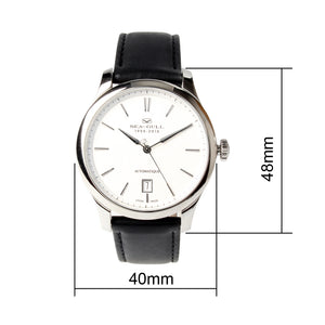 Seagull ST1812 Movement Designer Series Dress Watch 60th Anniversary Self Wind Automatic Mechanical Men's Watch 819.415