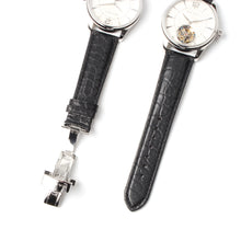 Load image into Gallery viewer, seagull alligator leather strap