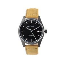 Load image into Gallery viewer, Seagull Vintage Military Wristwatch PVD Case Back Classic Luminous Hands Self Wind Automatic Watch 819.22.5121H