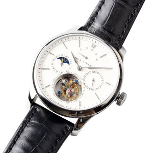 Seagull Tourbillon Mechanical Watch Power Reserve Day Night Indicator Manual Wind Men's Watch 818.937 with certification paper