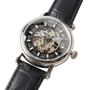 Seagull Unisex Wristwatch See-Through Skeleton Self Wind Mechanical Watch 819.338K