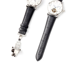 Load image into Gallery viewer, Seagull automatic self winding watch power reserve date display luminous hands sapphire crystal 819.317