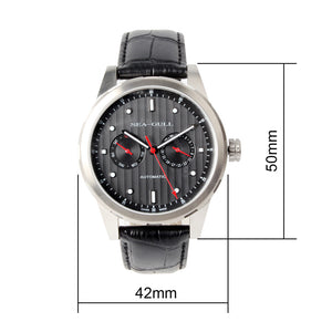 Seagull 42mm automatic wristwatch mechanical day date display self wind watch 5122 sapphire crystal
