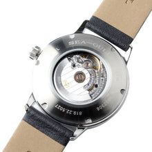 Load image into Gallery viewer, Seagull ST2130 Movement Automatic Self Wind Dress Wristwatch 819.22.5027 Mechanical Men's Watch Sapphire Crystal Leather Strap