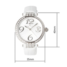 Load image into Gallery viewer, Seagull Rhinestones Bezel Self Wind Automatic Wristwatch 719.752L Multiple Colors Women's Watch seagull ST2130 Movement