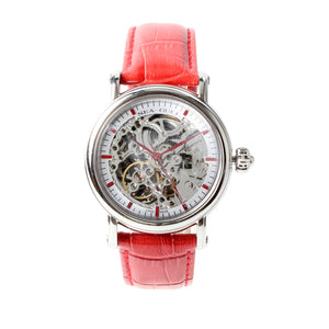 Genuine Seagull Skeleton See-Through Window Exhibition Back 38.5mm Watches white Hands Onion Crown Self Wind Automatic Watch M182SK