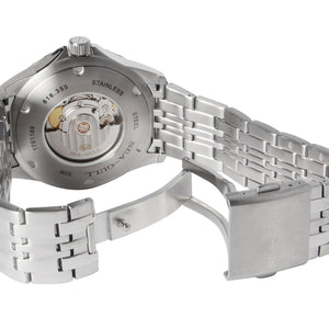 Seagull ST2130 movement automatic self winding watch 816.355 white dial sapphire crystal 42mm