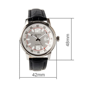 Seagull coin edge self winding automatic mechanical watch M306S sapphire crystal