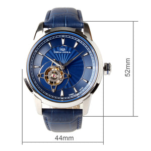 Seagull skeleton Watches Exhibition Back Self Wind 44mm Automatic Men's Mechanical Watch 819.32.1014K