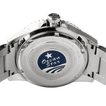 Load image into Gallery viewer, Seagull ceramic bezel upgraded ocean star 20Bar diver automatic watch 416.22.1201 ceramic bezel